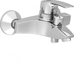 Hansa Hansapolo badkraan 15 cm. met s-koppelingen chroom 51442173