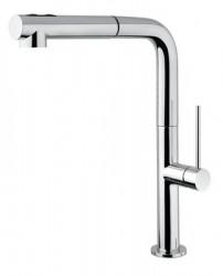 Design Keukenkraan met uittrekbare handdouche D1715 Steel