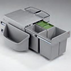 Selectakit Corner Masterboy 3 afvalemmer Hoekkasten 8012013