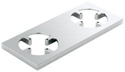 Grohe F-digital houder voor afstandsbediening en omstel rechthoek chroom 40548000