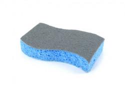 Blanco spontex spons voor reiniging van rvs oppervlaktes 125518