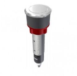 Franke drukknop rond RVS-look 35mm 1330282454