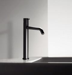 Waterevolution Flow wastafelmengkraan voor waskommen mat zwart T115PR