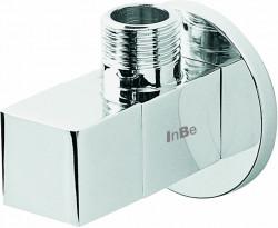 Clou InBe design hoekstopkraan type 6 vierkant chroom PhotoFreestanding
