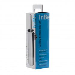 Clou InBe accessoireset bestaande uit toiletborstel toiletrolhouder reserverolhouder en kledinghaak