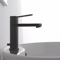 Zazzeri Trend Wastafelmengkraan zonder waste mat zwart 31001104A003131