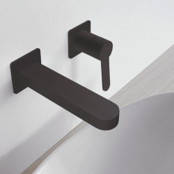 Zazzeri Trend inbouw wastafelmengkraan mat zwart 3100A113A003131