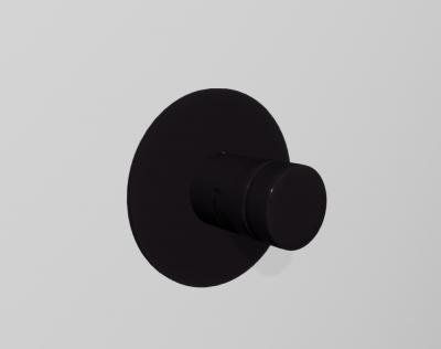 Zazzeri Pop Inbouwthermostaat Mat zwart 1208760892