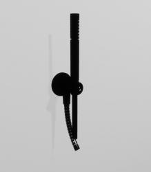 Zazzeri inbouw Handdoucheset mat zwart incl. muurbocht handdouche en slang 31000413A003131