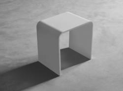 Solid S  badkamerkrukje Solid surface 40 x 30 x 43 cm wit mat 1208832552