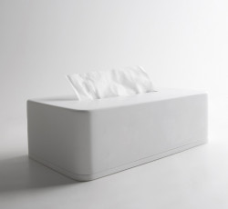 Solid-S tissue box Solid Surface mat wit 23.5 x 12.5 x 7 cm 1208832712