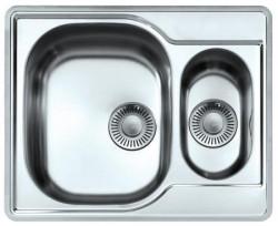 Franke spoelbak Compact CPX P 260 BL vlakinbouw bak links incl kraangat 1270069993