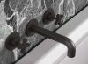 Waterevolution Cruz 3-Gats inbouw wastafelmengkraan mat zwart 1208916572