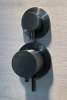 Rubio Inox inbouw thermostaatkraan met 2-weg omsteller volledig RVS PVD kleur Geborsteld goud 1208920696