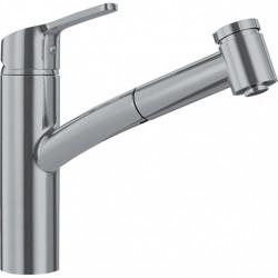Franke Keukenkraan Smart uittrekbare handdouche 215 mm RVS-Look 115.0391.484