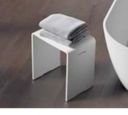 Riho badkamerkrukje Solid surface 40 x 29 x 43 cm wit mat AS03005
