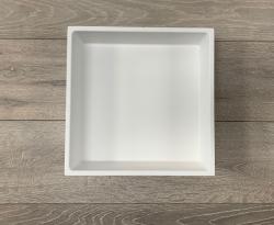 Solid-S inbouw nis mat wit solid surface 30x30x8cm 1208946931