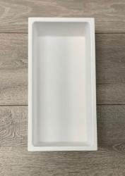 Solid-S kleine inbouw nis mat wit solid surface 15x30x8cm 1208952448